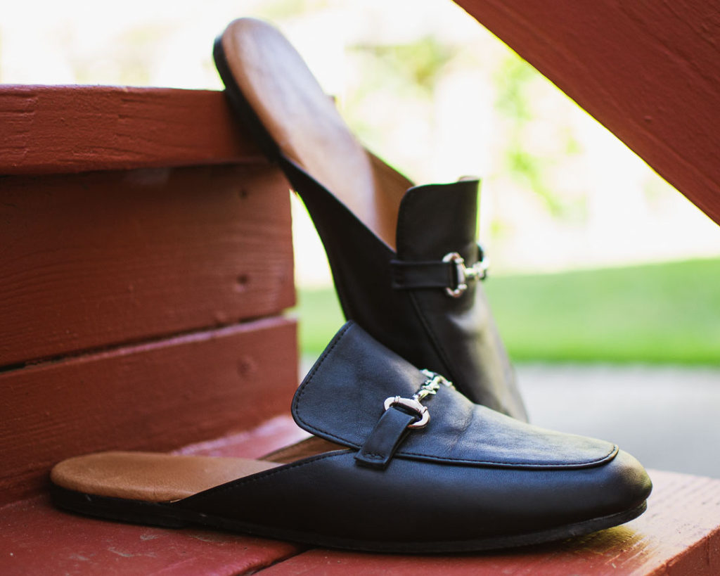 Getting custom leather shoes made in Hoi An, Vietnam: Gucci loafer slide dupes!