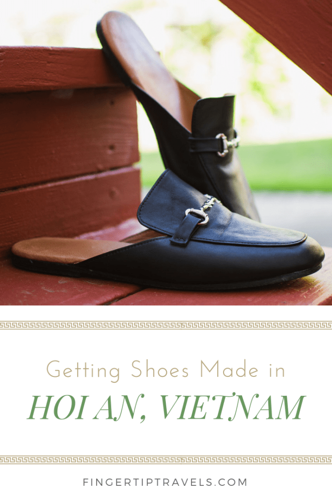 Getting Shoes Made in Hoi An, Vietnam. Guide to custom leather shoes in Hoi An, Vietnam.