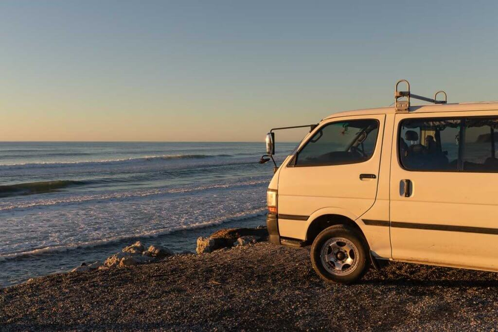 How to buy a van in New Zealand: on the West Coast Road