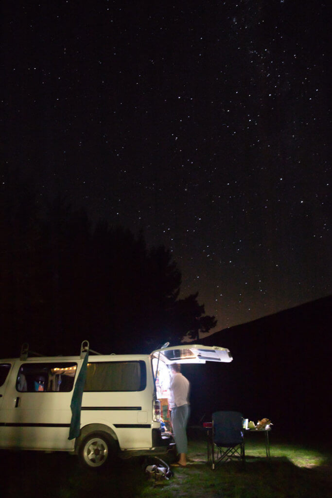 How to buy a van in New Zealand: Freedom Camping near Taupo