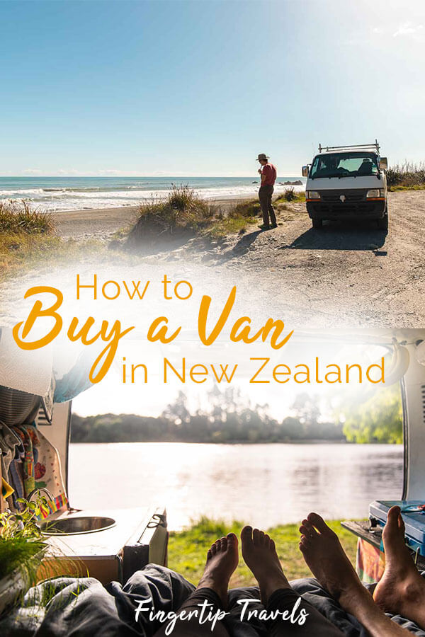 How to buy a van in New Zealand! Tips for buying a van for your New Zealand road trip, or for your working holiday visa. Save money and gain freedom, flexibility, and a cozy portable home, experience vanlife abroad! #vanlife